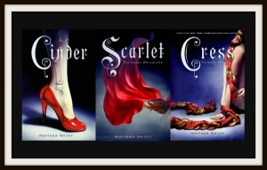 The first three Cinder books.