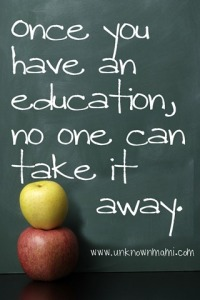 From http://www.unknownmami.com/2012/07/why-is-education-important-waveforchange.html